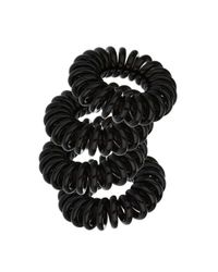 Miss Selfridge - Black Spring Hair Bobble - Lyst