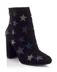 Miss Selfridge | Black Amaze Star Boots | Lyst