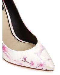 Miss Selfridge | Multicolor Glam Floral Court Shoes | Lyst