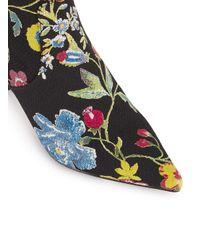 Miss Selfridge - Multicolor Darlington Floral Sock Boot - Lyst