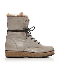 Moda In Pelle - Gray Allesia - Lyst