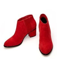 Moda In Pelle - Red Lauria Chelsea Boots - Lyst