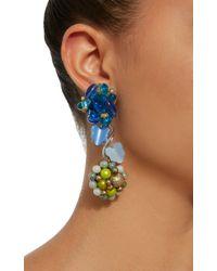 Lulu Frost - Blue M'o Exclusive Vintage Japanese Beaded Earrings - Lyst