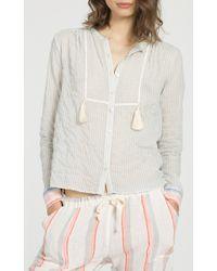 lemlem - Multicolor Afia Tassel Shirt - Lyst