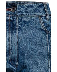 Magda Butrym | Blue Brownsville Cropped Jean | Lyst