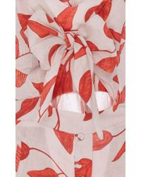 Johanna Ortiz - Multicolor Desirade Bow Front Sheath Dress - Lyst
