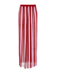 Missoni - Red Clove Multicolor Skirt - Lyst