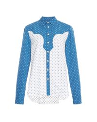 Rosetta Getty - Multicolor Western Cotton Button Up Shirt - Lyst