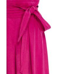 Apiece Apart - Blue Baja Tie Waist Culottes - Lyst