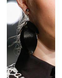 Proenza Schouler - Black Full Leave Earrings - Lyst