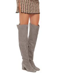 Brother Vellies - Gray Kaya Tall Boot - Lyst