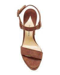 Paul Andrew - Natural Stanton Platform Sandals - Lyst