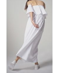Paper London - White Oria Dress - Lyst