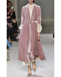 Luisa Beccaria - White Stretch Lace Dress - Lyst