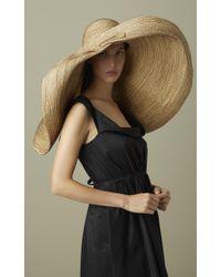 Lola Hats - Brown Giga Spinner Hat - Lyst