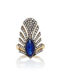 Yvonne Léon - Blue Haut De Forme Ring - Lyst