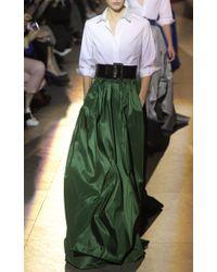Carolina Herrera - Green Ball Skirt - Lyst