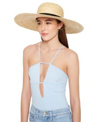 Eugenia Kim - Multicolor Bunny Sun Day Straw Sunhat - Lyst