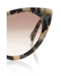 Altuzarra - Brown Two Toned Sunglasses - Lyst