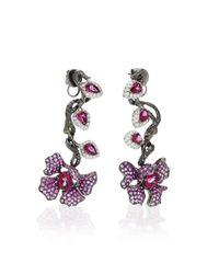 Wendy Yue - Red M'o Exclusive: Lux Garden Earring - Lyst