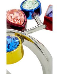 Atelier Swarovski - Multicolor Arbol Cocktail Ring - Lyst