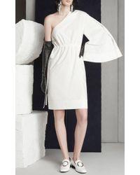 Solace London | White Aylin Asymmetric Dress | Lyst