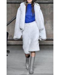Marni - Blue Mohair Jacket - Lyst
