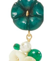 Of Rare Origin - Green Jade Nesters Earring - Lyst