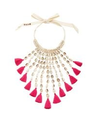 Figue | Pink Sina Necklace | Lyst