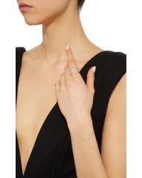 Yvonne Léon - Metallic 18k Gold Diamond Ring - Lyst