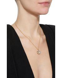Renee Lewis - Metallic Shake 18k Gold Diamond And Pearl Necklace - Lyst