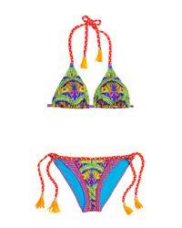 Paolita - Multicolor Safia Printed Bikini Set - Lyst