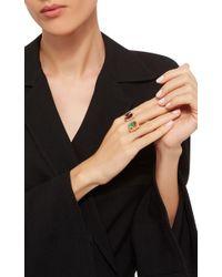 Wendy Yue - Orange Citrine And Garnet Ring - Lyst