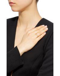 Octavia Elizabeth | Metallic 18k Gold Diamond Ring | Lyst