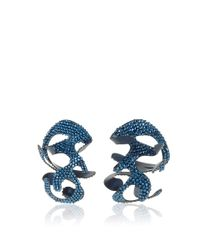 Rosie Assoulin | Blue Roxanne Assoulin For Swarovski Large Sculptural Earrings | Lyst