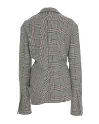 Rosie Assoulin - Gray Swaggy Jacket - Lyst