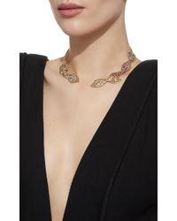 Ana Khouri - Metallic M'o Exclusive: Multicolor Leaf Necklace - Lyst