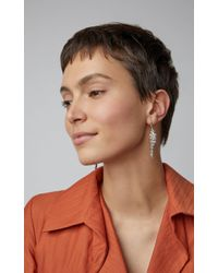 Sylva & Cie - Metallic Cloud 18k Gold And Champagne Diamond Earrings - Lyst