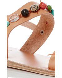 Ancient Greek Sandals - Brown Clio Gladiator Sandals - Lyst