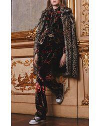 Roberto Cavalli - Black Velvet Tailored Blazer - Lyst