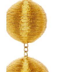 Rebecca de Ravenel - Metallic Les Bonbons Caramel Gold II Earrings - Lyst