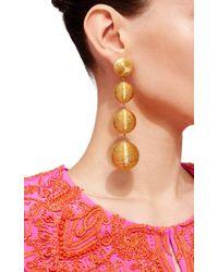 Rebecca de Ravenel | Metallic Les Bonbons Caramel Gold II Earrings | Lyst