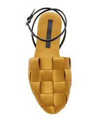 Marco De Vincenzo - Multicolor Basket Weave Sandals - Lyst