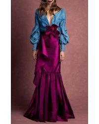 Johanna Ortiz - Pink Ivy Lexton Flower Belt - Lyst