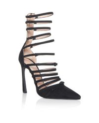 Giambattista Valli - Black Multi-strap Sandals - Lyst