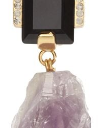 Marni - Purple Amethyst Drop Earrings - Lyst