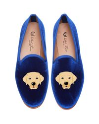 Del Toro | Blue Yellow Lab Slipper | Lyst