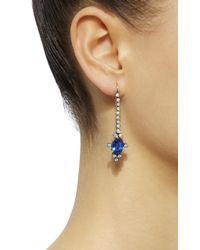 Montse Esteve - Blue 18k Gold, Kyanite And Diamond Earrings - Lyst