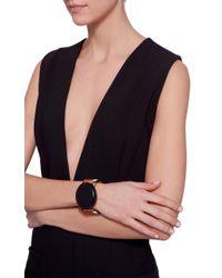 Marni - Black Bracelet With Resin - Lyst