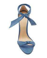 Alexandre Birman - Blue Clarita Suede Sandals - Lyst